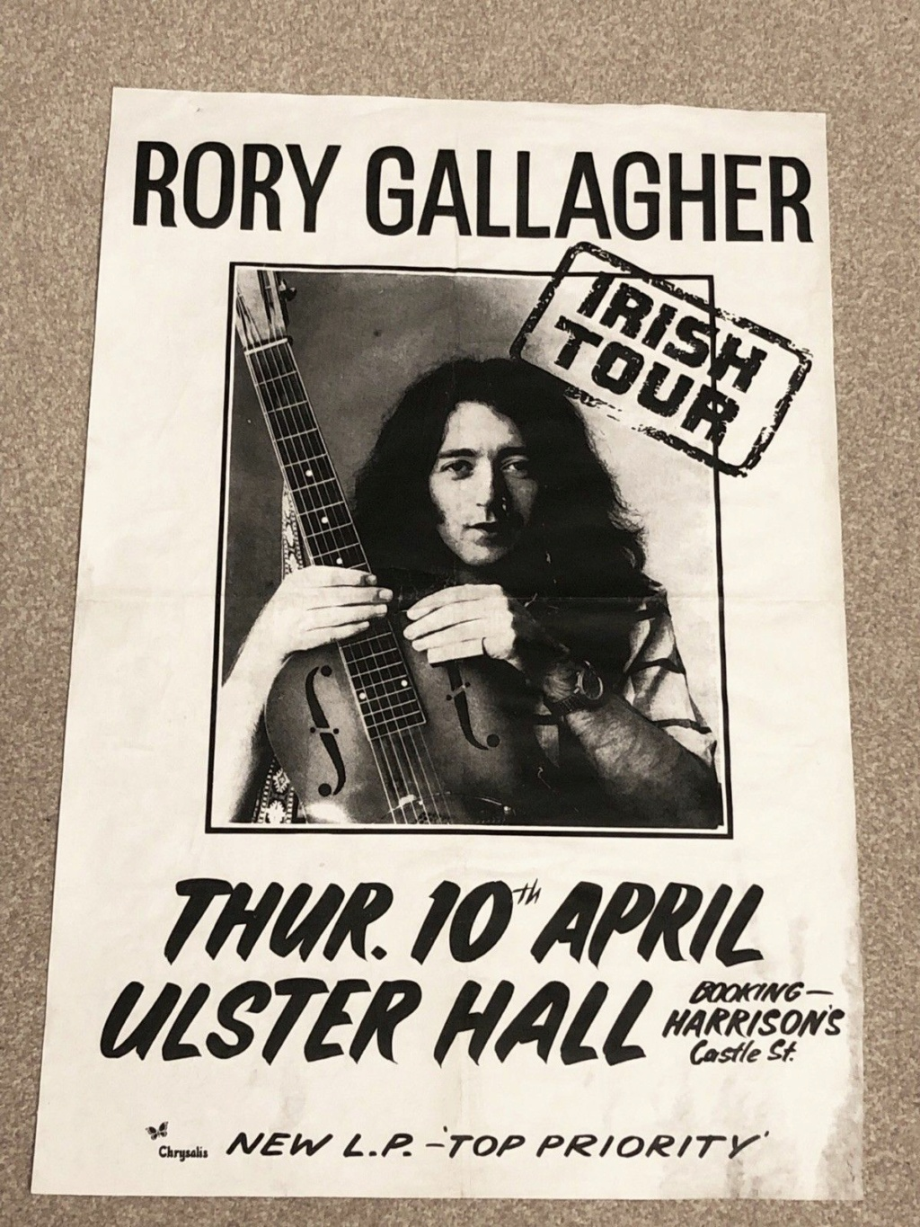 Tickets de concerts/Affiches/Programmes - Page 40 Ulster10