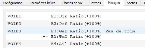 Gérer TRIM gaz Trimg-11