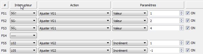 Modifier la puissance du VTX en vol avec 1 inter unique Vtx311