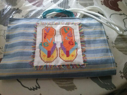 sac de plage, le tuto 13797612