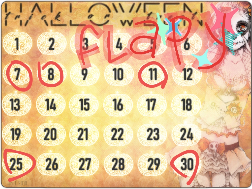 Event 46 ♦ Jusqu'au 31 octobre 20181010