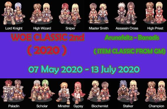 [EVENT] WOE CLASSIC EQUIP 2nd 2020 Woecla11