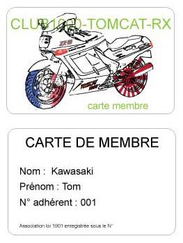 Carte de membre Carte-10