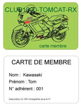 Carte de membre Carte-11