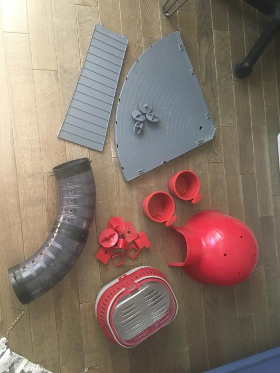 Cage furat KD (78 x 48 x 70 cm) et accessoires (Bagneux, 92) Img_7013
