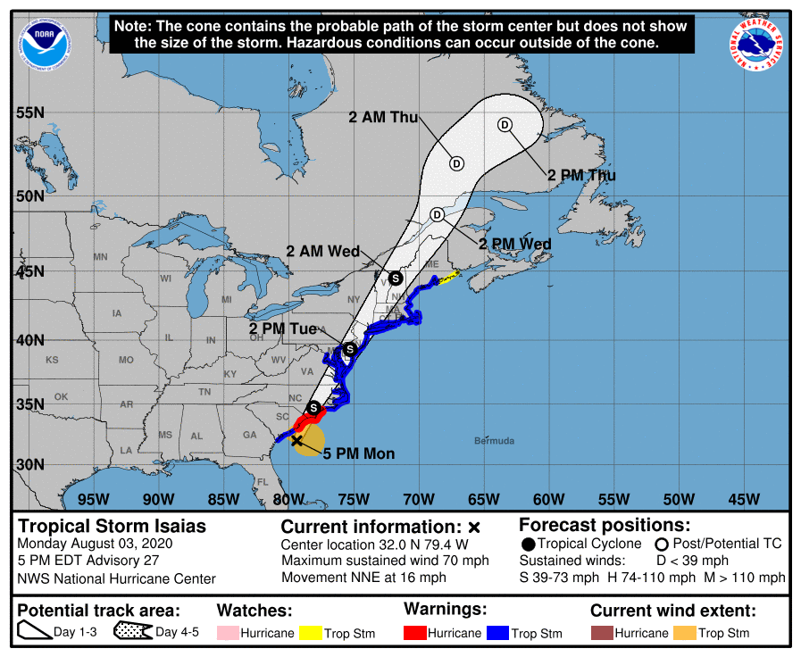 Tropical Storm Isaias 15241611