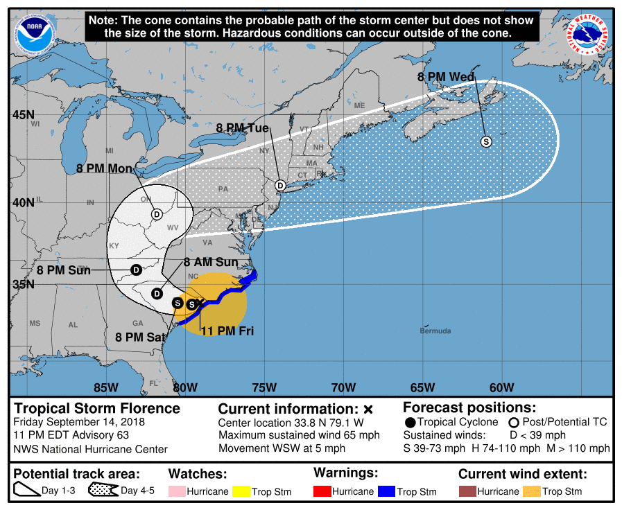 MAJOR HURRICANE FLORENCE part 2: Will have historic impacts to the Carolina coastline and areas inland - Page 7 21315610