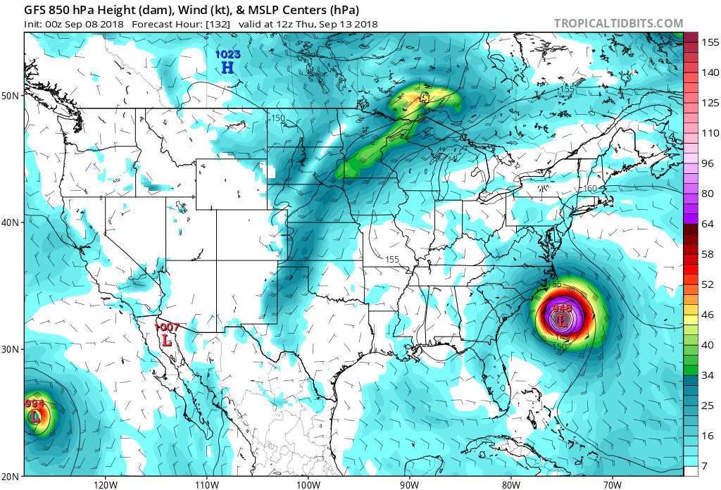 FLORENCE: East Coast Threat or Does She Sleep With the Fishes? - Page 4 Gfs_ms14