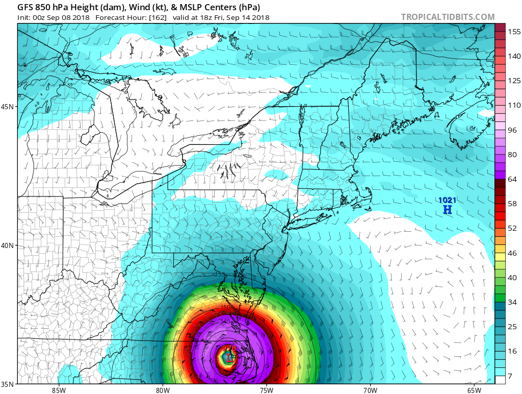 FLORENCE: East Coast Threat or Does She Sleep With the Fishes? - Page 4 Gfs_ms15