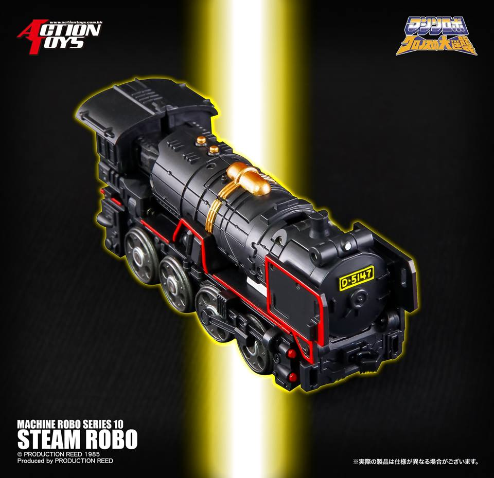 Action Toys  ROBO MACHINE Revenge of Cronos - Page 6 Steam-11