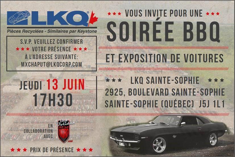 LKQ Sainte-Sophie · Saint-Jérôme  BBQ Gratuit à tout les exposants 60271111