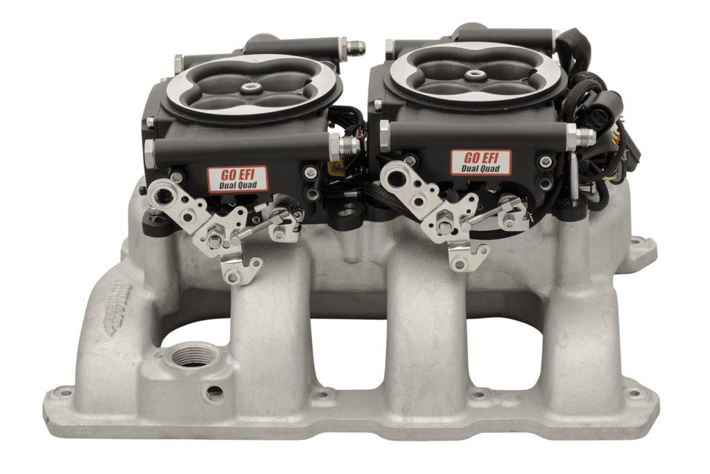 VENDU 426 HEMI crate motor mopar performance 490HP Fitech10