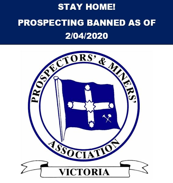 This is the final word from the Vic. Government regarding prospecting.  Pmav_i10