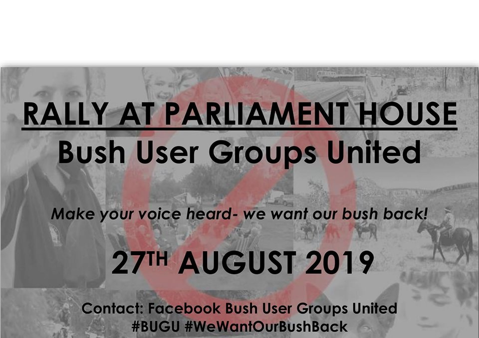 * BUSH USER GROUPS UNITED * Come on one and all and support this Facebook Group of Bush Users concerned about pending changes ** - Page 8 Rally_10