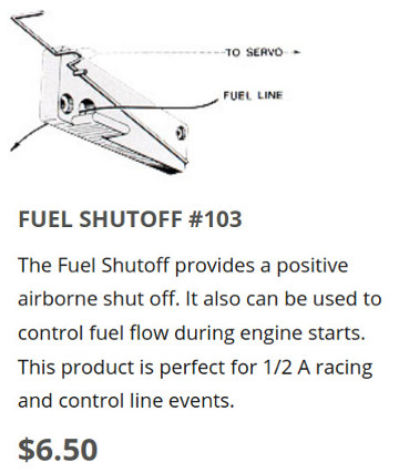 Cox Engine Fuel Tubing Elbow Fitting? 2020-022