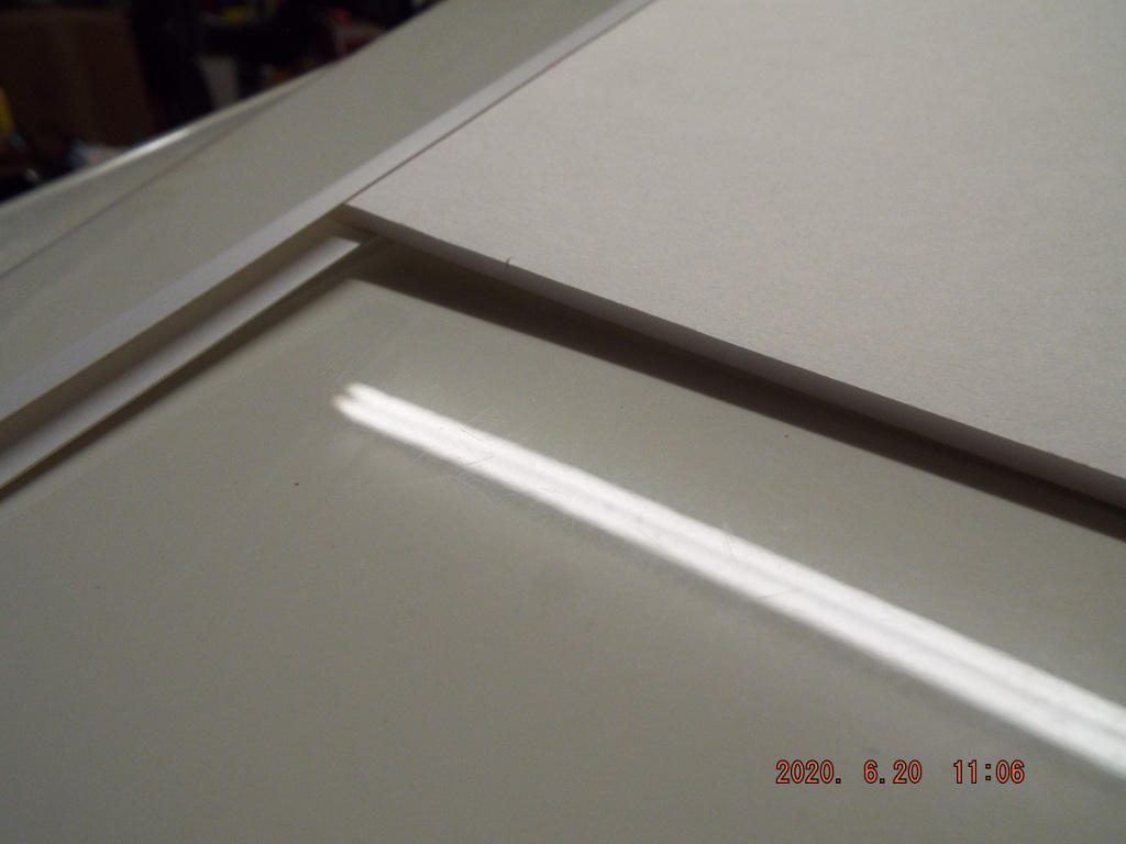 Cap for Poster Foam Board Wing Leading Edges 2020-027