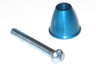 Blue Anodized Spinner 29170410