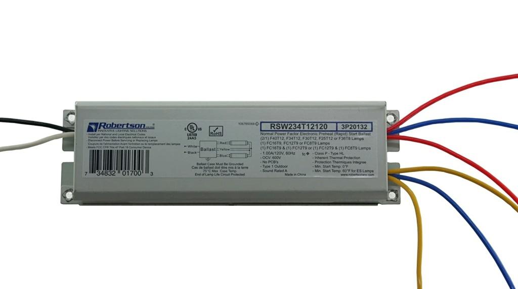 Preheat ballast for two (2) 40 watt T12 lamps 71v32e10