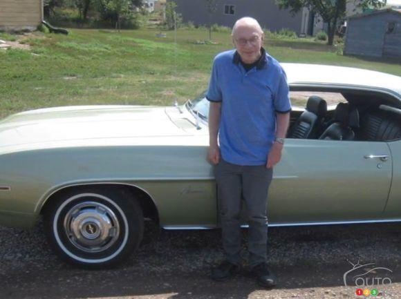 il bichonne depuis 51 ans maintenant, la même voiture (Camaro 69). Cam210