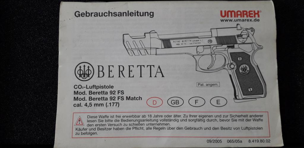 Beretta 92fs umarex 20200739