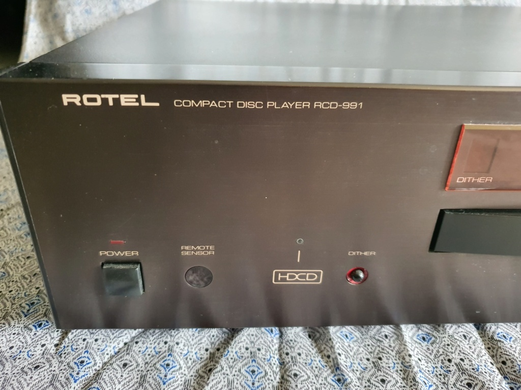 Rotel RCD991 CD player (used)(sold) 20210816