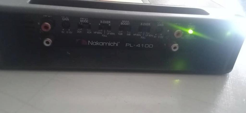 Nakamichi power amp PL-4100 (Sold) Nakami12