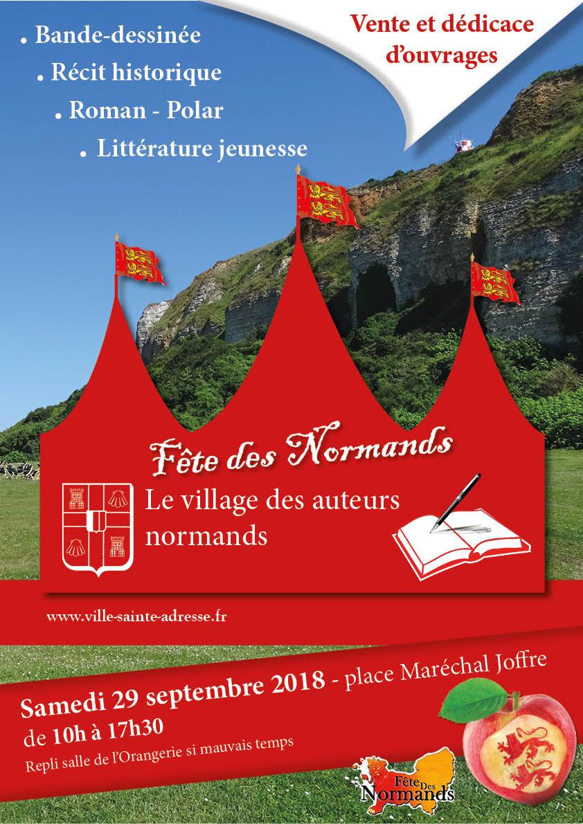 29/09/2018 : Village des auteurs normands à Sainte-Adresse 2018-010