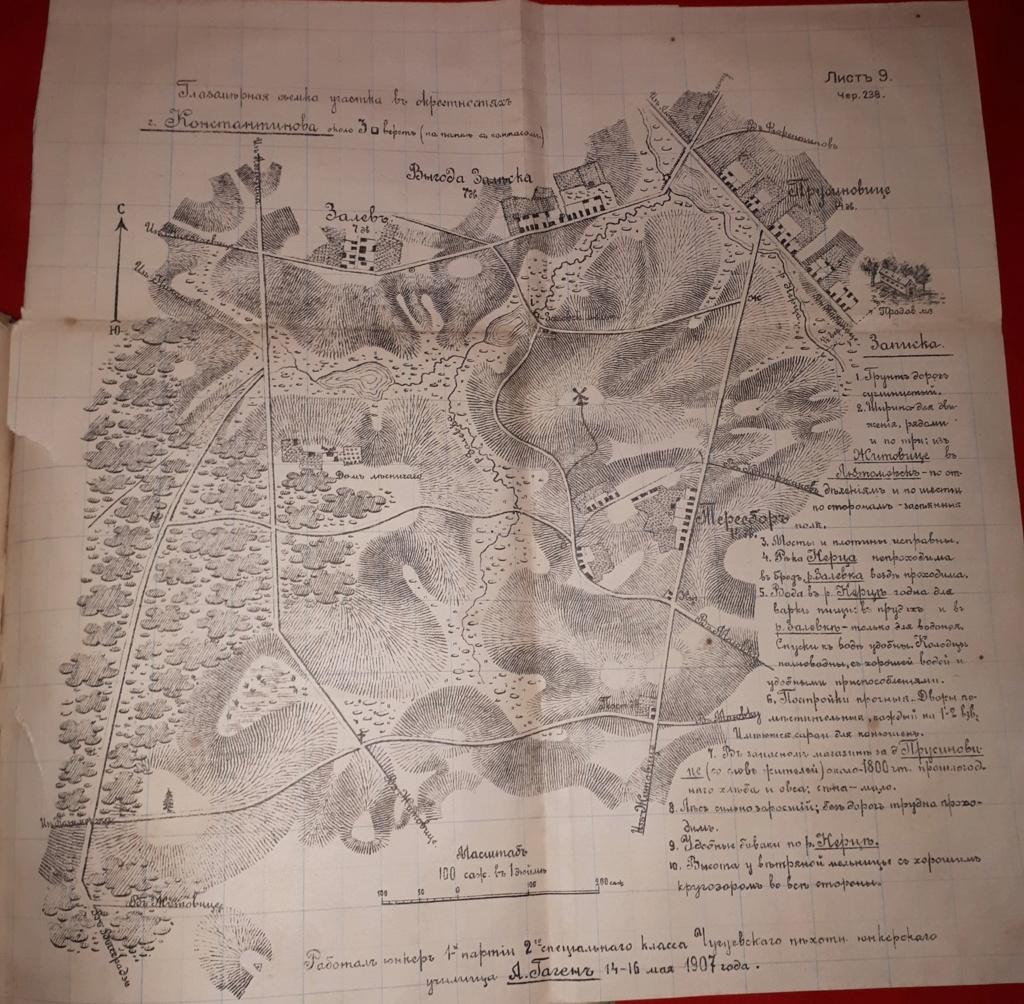Записки військових топографів, І. Зибін 1015