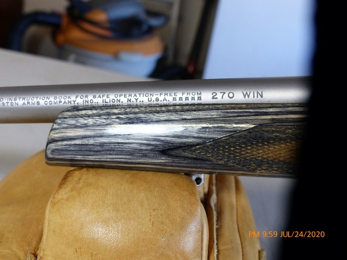 LH, Rem 700 unfired 3006, stunning Rem 700 LH 270 win Stainless/Laminated P1040313