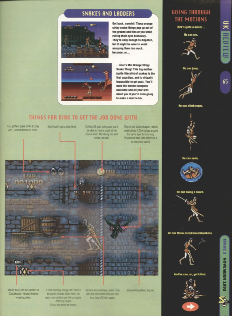 October 1992 - Enter the SNES Dragon11