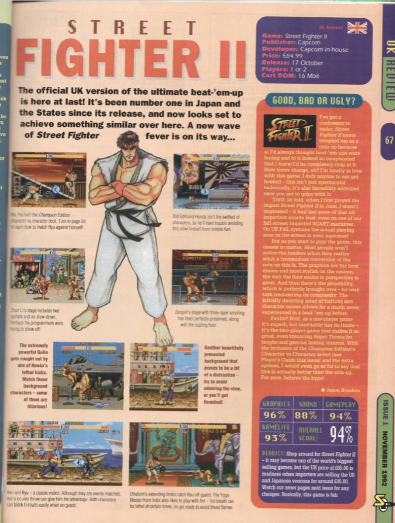 October 1992 - Enter the SNES Street10