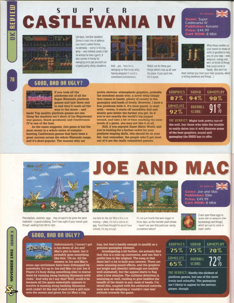 October 1992 - Enter the SNES Superc10