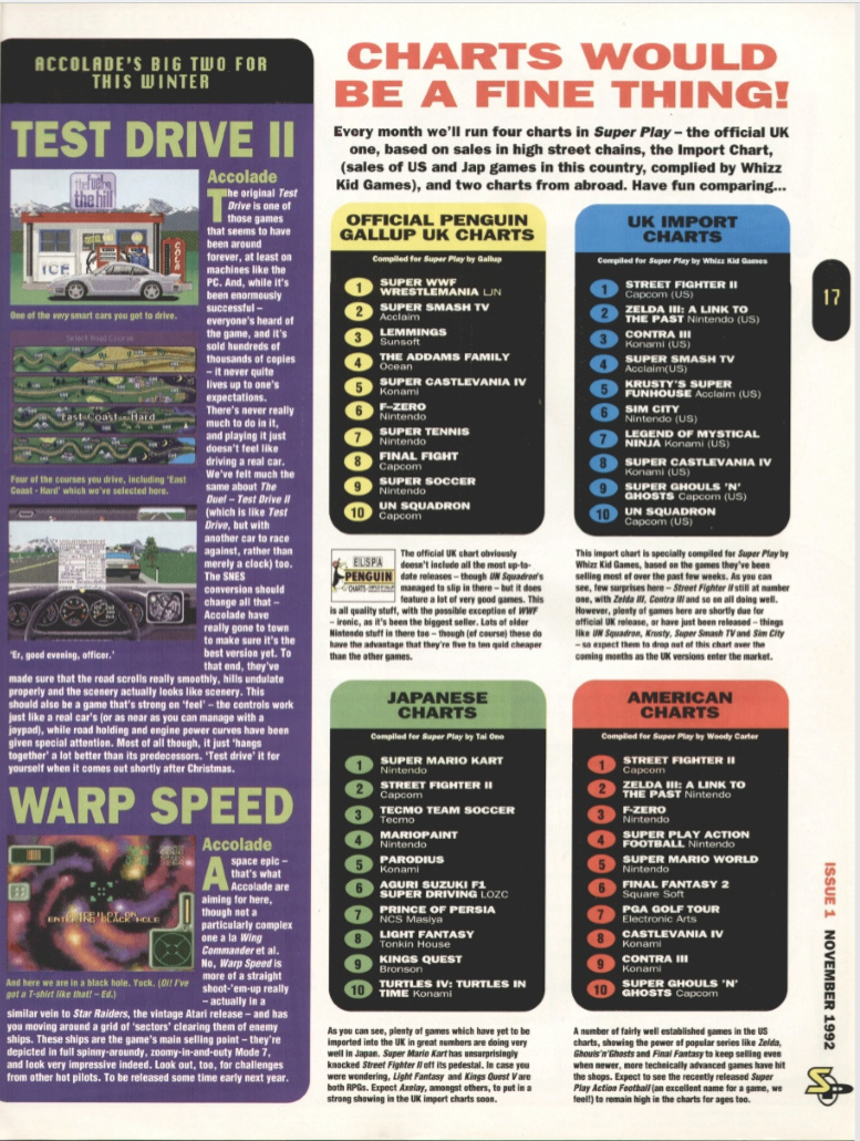October 1992 - Enter the SNES Superp13