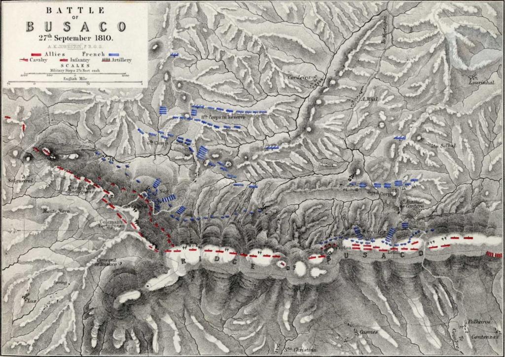 CR Fighting Wellington 2nd Battle BUSSACO.20 1810bu10