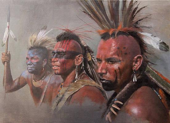 CR Bayonets and tomahawks Mohawk10