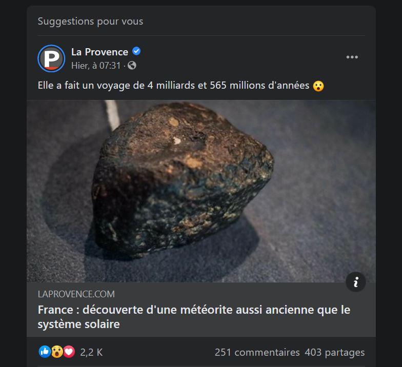 France : découverte d'une météorite.......... Captur21