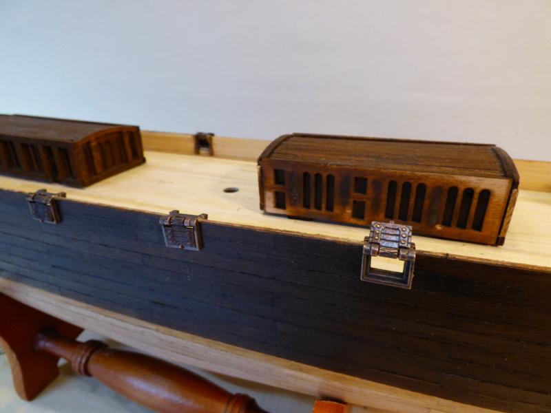 Meine Cutty Sark von delPrado wird gebaut - Seite 2 Deck_110