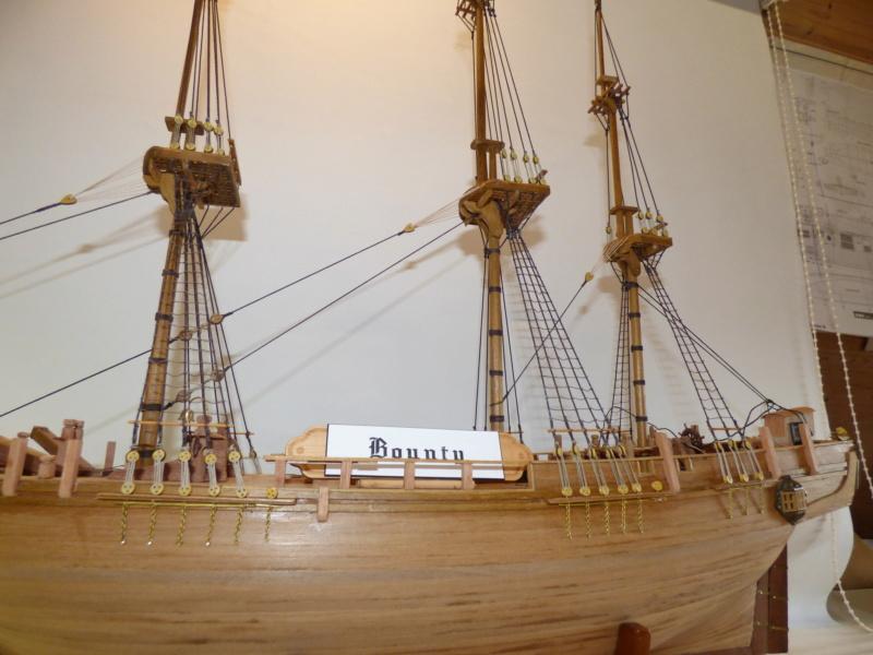 HMS Bounty 1:46 delPrado - Seite 5 P1010034