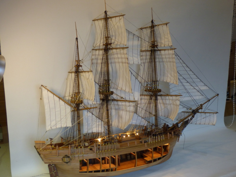 HMS Bounty 1:46 delPrado - Seite 9 P1010716