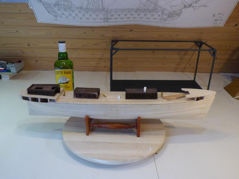 Meine Cutty Sark von delPrado wird gebaut - Seite 2 Rumpf10