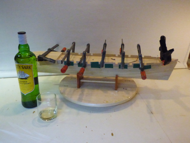 Meine Cutty Sark von delPrado wird gebaut - Seite 2 Rumpf_11