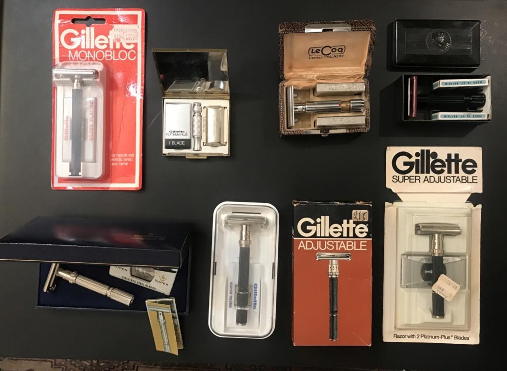 Rasoirs vintage: Gillette, Merkur, Lecoq - MAJ PRIX 7f5af110
