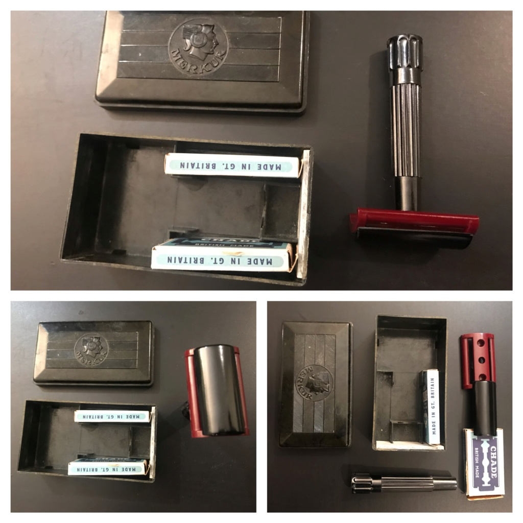 Rasoirs vintage: Gillette, Merkur, Lecoq - MAJ PRIX A6953210