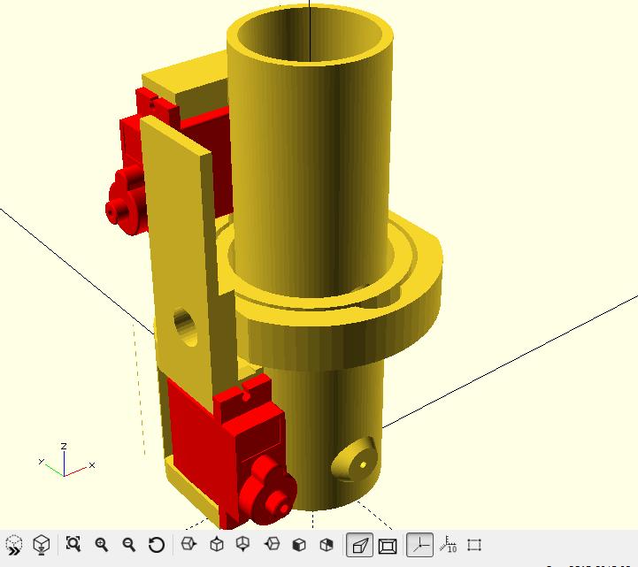 Rocket motor thurst vectoring Motor_10