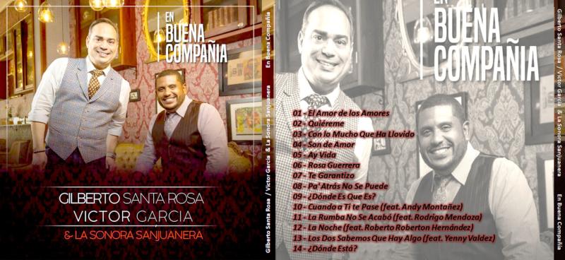 Gilberto Santa Rosa & La Sonora Sanjuanera - En Buena Compañia (2018) Gilber11