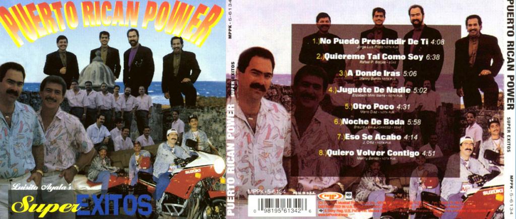 PUERTO RICAN POWER CON TITO ROJAS - SUPER EXITOS (1994) Puerto11