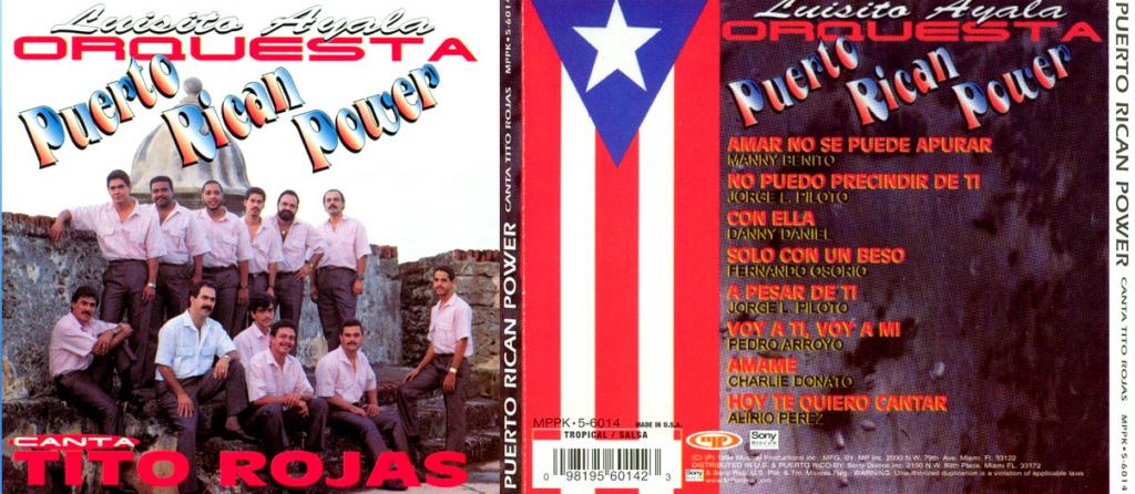 PUERTO RICAN POWER - CANTA TITO ROJAS (1994) Puerto12