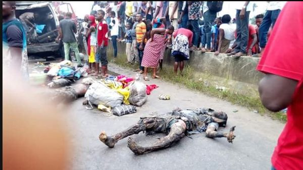 See The Woman Who Survived Accident That Killed All Passengers (Graphic Photos) Gra-110
