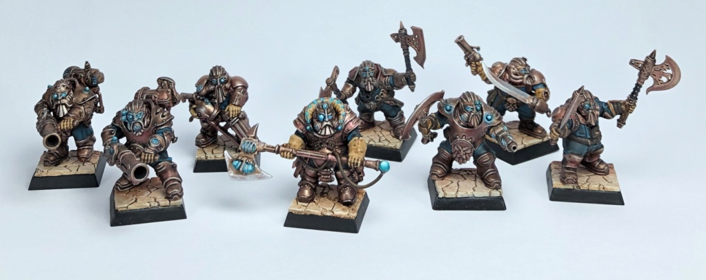 Sliver's Warbands: Mummies, dwarves, rats, orcs & deamons D722ad10