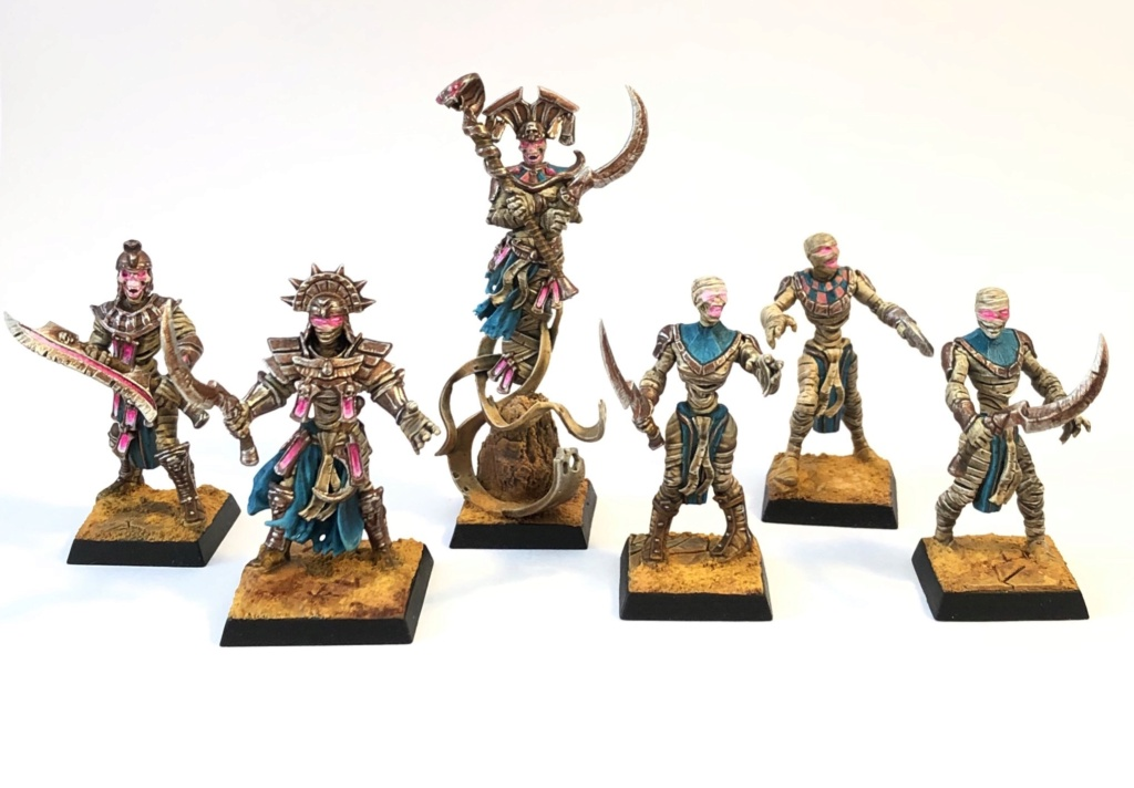 Sliver's Warbands: Mummies, dwarves, rats, orcs & deamons F1bf0e11